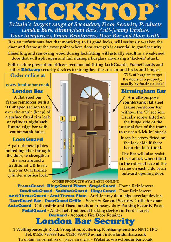 Burglary Prevention Door Security Products